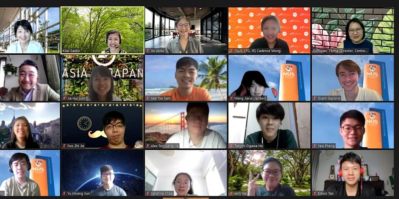 シンガポール国立大学で4年目の「Study Go Work JAPAN 日本語授業」開始